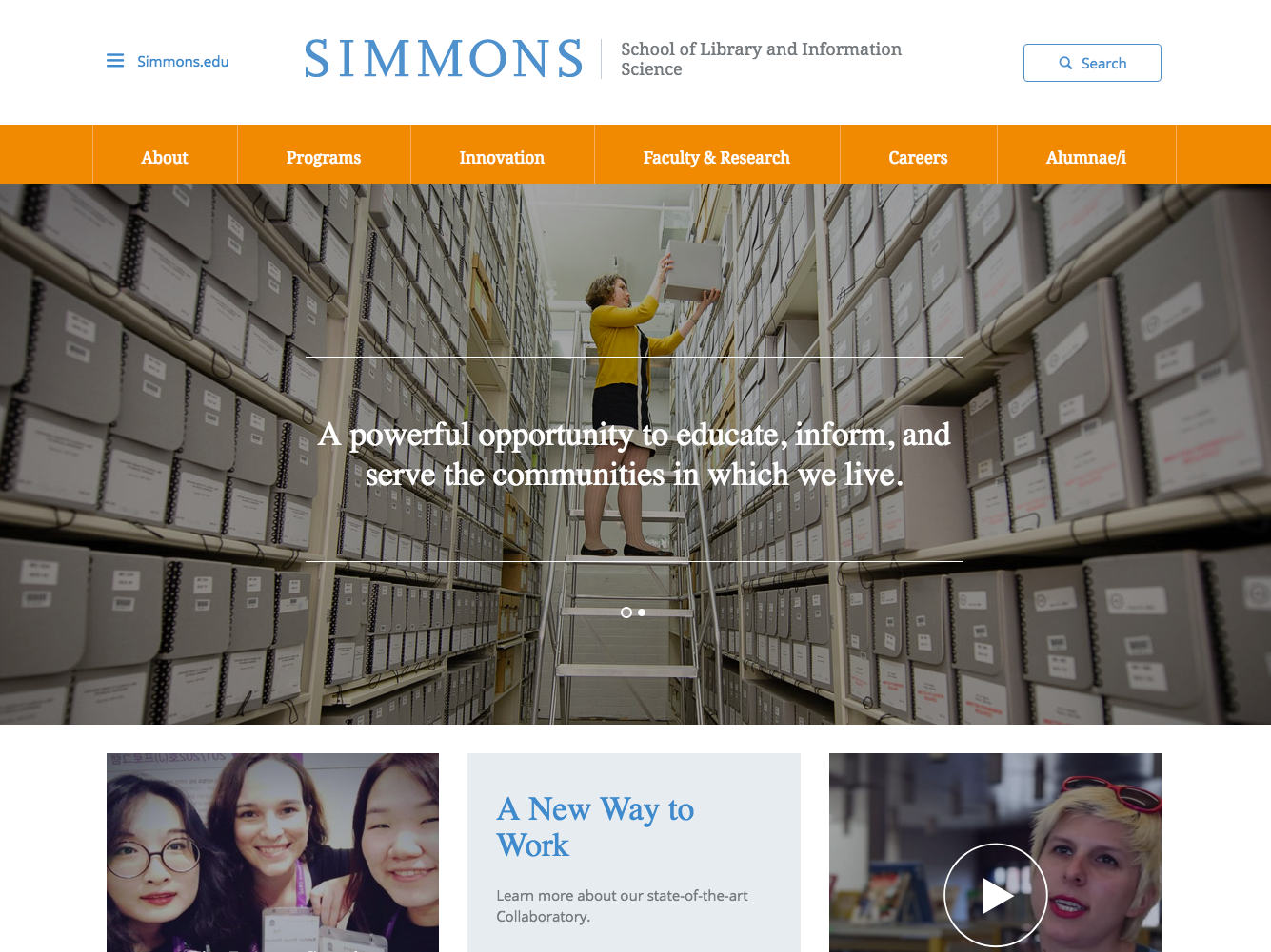 Simmons College GSLIS